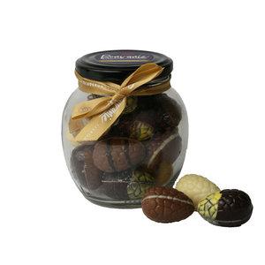 Bonvanie chocolade Gevulde paaseitjes in glazen pot