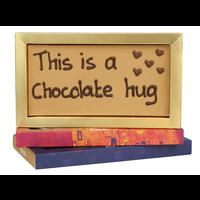 This is a chocolate hug - Chocoladereep met tekst