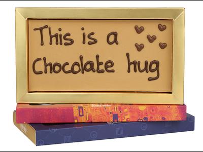 Bonvanie chocolade This is a chocolate hug - Chocoladereep met tekst