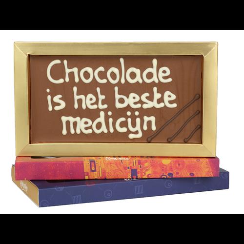 Bonvanie chocolade Chocolade is het beste medicijn - Chocoladereep