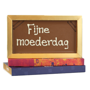 Bonvanie chocolade Fijne moederdag - Chocoladereep met tekst