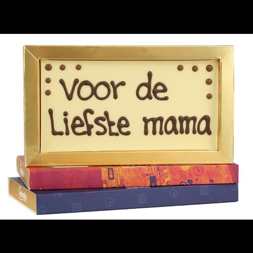 Bonvanie chocolade Voor de liefste mama - Chocoladereep