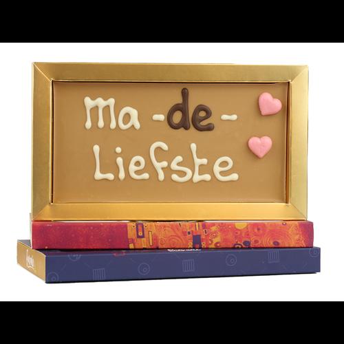 Bonvanie chocolade Ma-de-liefste - Chocoladereep met tekst