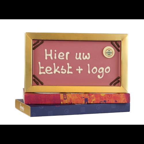 Bonvanie chocolade Chocoladereep met logo