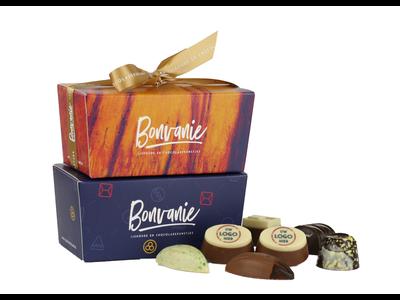 Bonvanie chocolade Bonbons met logo 265 gram