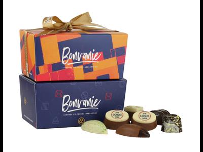 Bonvanie chocolade Bonbons met logo 360 gram