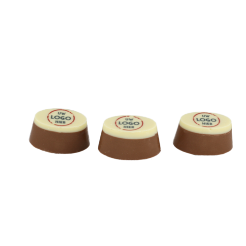 Bonvanie chocolade Ambachtelijke bonbons met logo 500 gram