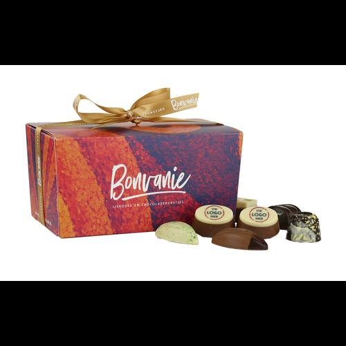 Bonvanie chocolade Ambachtelijke bonbons met logo 750 gram