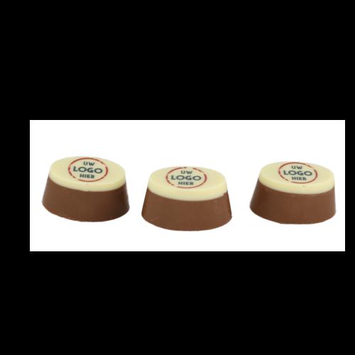 Bonvanie chocolade Ambachtelijke bonbons met logo 150 gram