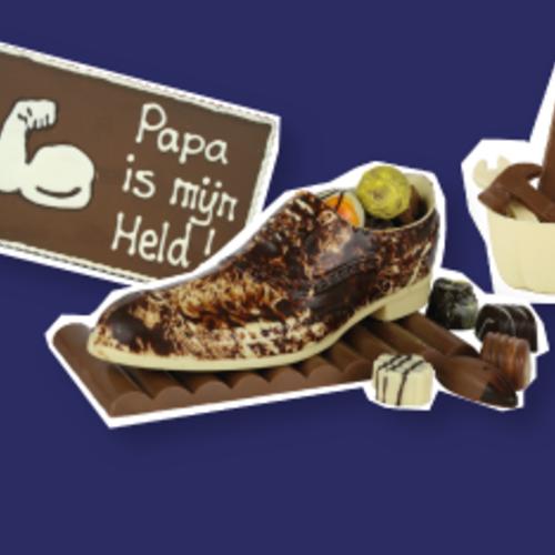 Chocolade voor Vaderdag