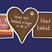 Chocolade met logo
