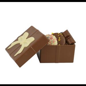 Bonvanie chocolade Chocoladecadeau gevuld met diverse soorten chocolade