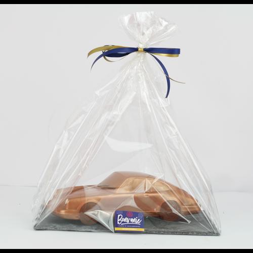 Bonvanie chocolade Porsche  van chocolade op leisteen - Bonvanie 3D Chocolade
