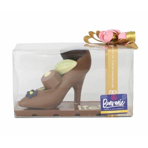 Bonvanie chocolade Chocolade Pump met bonbons - Bonvanie 3D Chocolade