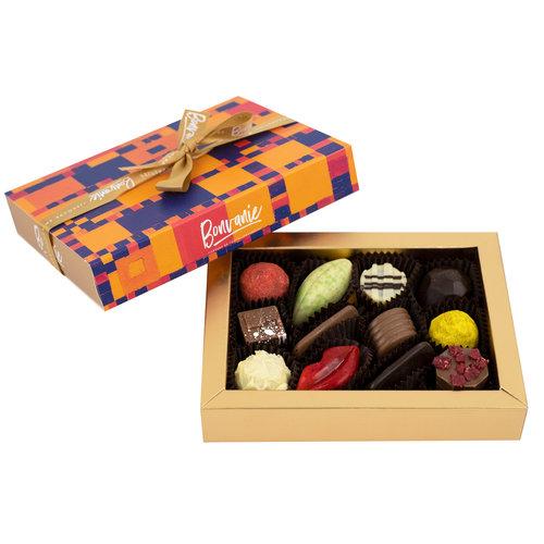 Bonvanie chocolade Chocoladekastje gevuld met bonbons