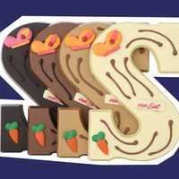 Ambachtelijke Chocoladeletters