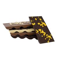 Assortiment chocoladereepjes gemixt