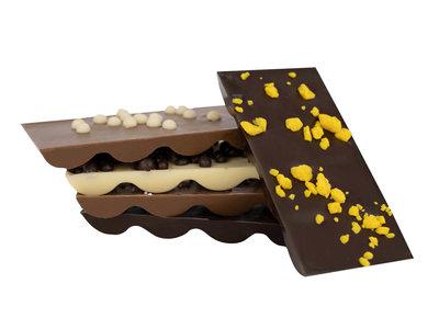 Bonvanie chocolade Assortiment chocoladereepjes gemixt