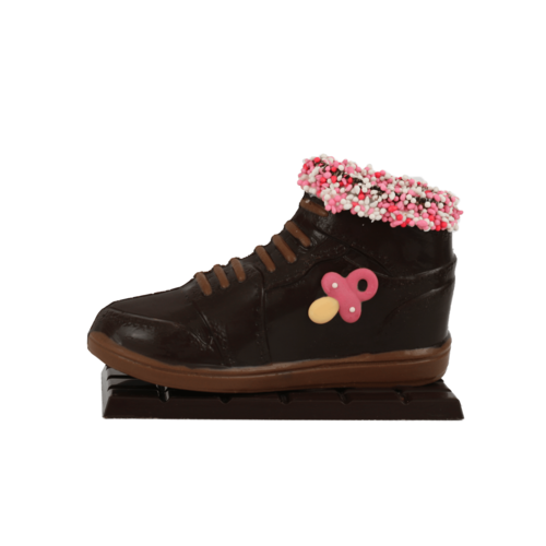 Bonvanie chocolade Chocolade baby sneaker - Bonvanie 3D Chocolade