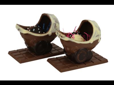 Bonvanie chocolade Chocolade babywiegje met flikken