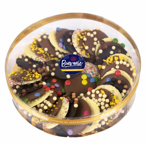 Bonvanie chocolade Flikken cadeaudoos, diverse maten