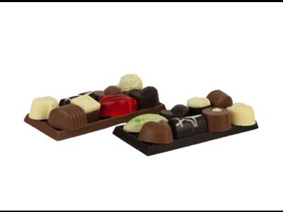 Bonvanie chocolade Cadeauplaatje - Bonbons