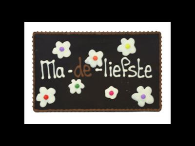 Bonvanie chocolade Ma-de-liefste - Chocoladeplakkaat