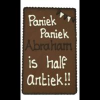 Abraham - Chocoladeplakkaat