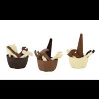 Gereedschap van chocolade