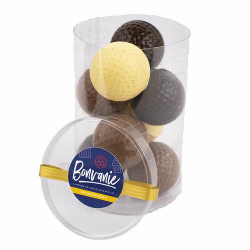 Bonvanie chocolade Chocolade golfballetjes - Bonvanie 3D Chocolade