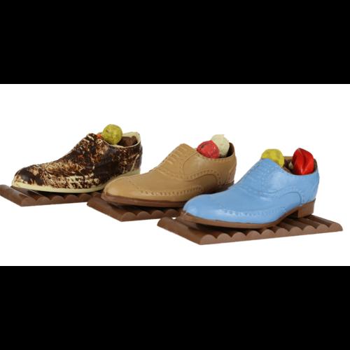 Bonvanie chocolade Herenschoen van chocolade gevuld met bonbons - Bonvanie 3D Chocolade