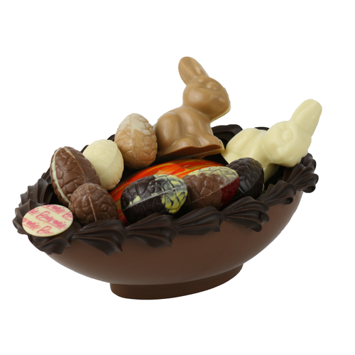 Bonvanie chocolade Bonvanie - Paasbakje kunst gevuld