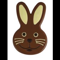 Chocolade paashaas hoofd XXL