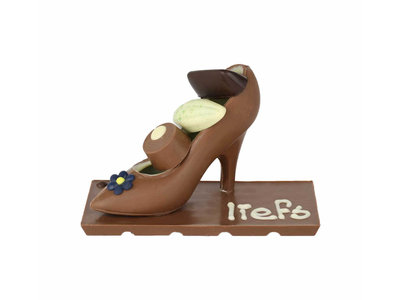 Bonvanie chocolade Chocolade Pump met bonbons