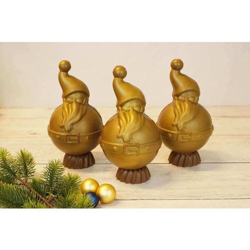 Bonvanie chocolade Kerstman gemaakt van chocolade