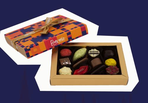 Chocolade door de brievenbus