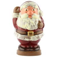 3D Chocolade kerstman groot