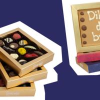 Brievenbus-chocolade