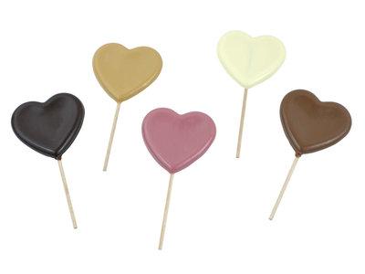 Bonvanie chocolade Hartenlolly van chocolade