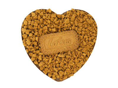 Bonvanie chocolade Lotus Speculoos chocoladehart