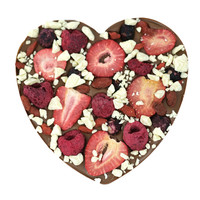 Fruit explosion chocoladehart