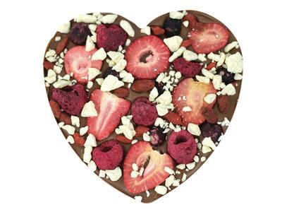 Bonvanie chocolade Fruit explosion chocoladehart