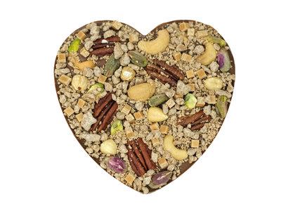 Bonvanie chocolade Nuts explosion chocoladehart