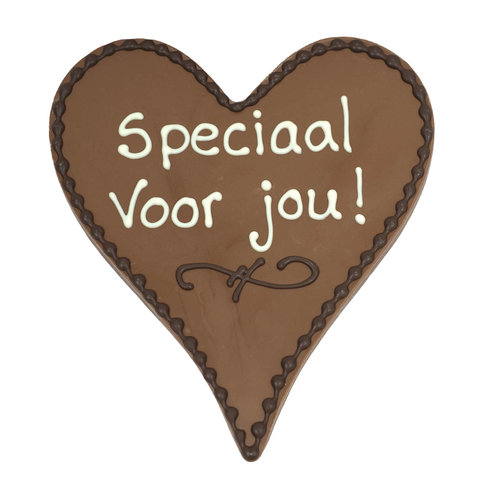 Bonvanie chocolade Speciaal voor jou! - Chocoladehart XL