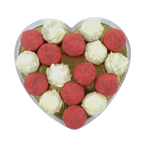Bonvanie chocolade Truffels in hartendoos