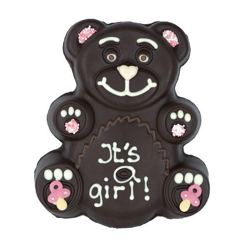 Bonvanie chocolade Chocolade teddybeer met tekst