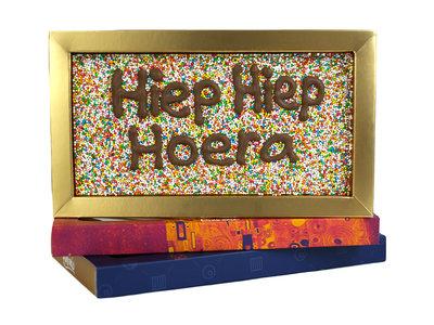 Bonvanie chocolade Disco-chocoladereep met eigen tekst