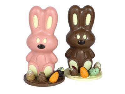 Bonvanie chocolade Chocolade paashaas Nijntje met paaseitjes