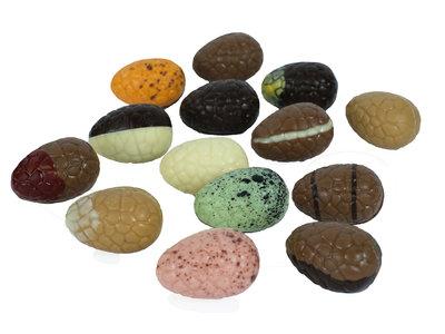 Bonvanie chocolade Gevulde paaseitjes, diverse soorten
