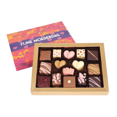 Bonvanie chocolade Brievenbus-chocolade Moederdag bonbons